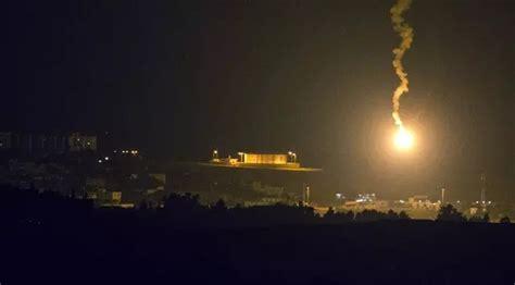 detik jerusalem video viral detik detik rudal israel menghantam jalur gaza