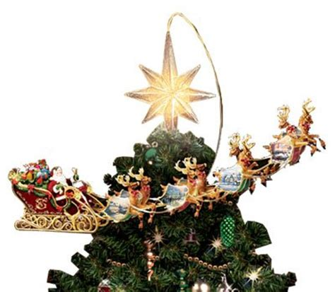 disney tabletop christmas tree thomas kinkade holidays in