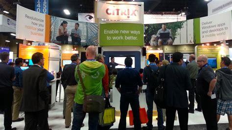 trade show presenter spark presentations spark trade show presenter shines for citrix at interop