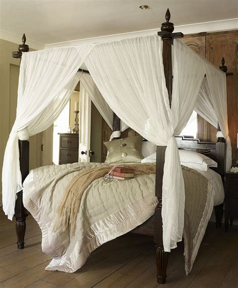canopy curtains for four poster bed 17 best images about curtain rod canopy beds on pinterest