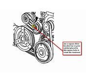 Service Manual 2000 Oldsmobile Alero Water Pump Belt