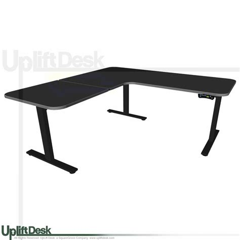 Shop Uplift 950 Height Adjustable L Shaped Standing Desks L Shaped Standing Desk
