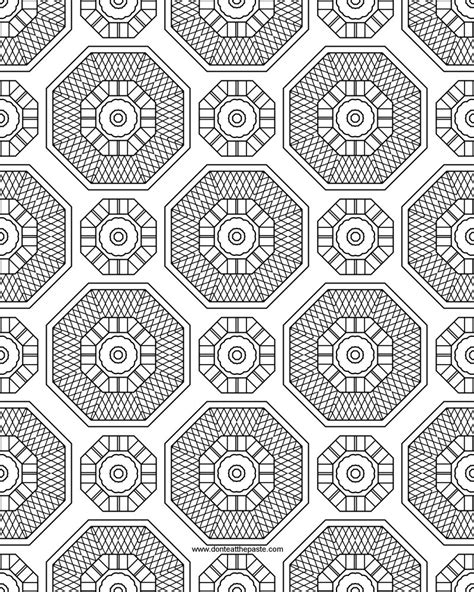 Free Coloring Pages Of Difficult Patterns 14440 Bestofcoloring Com Coloring Pages Patterns