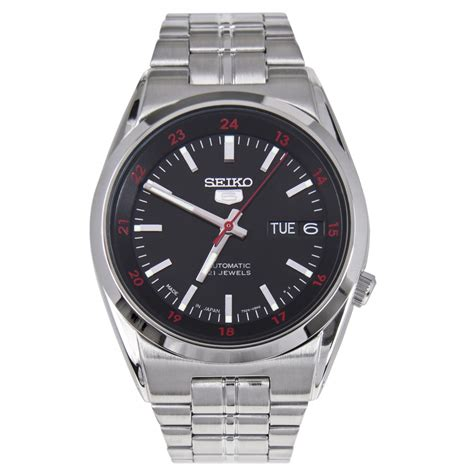 seiko 5 automatic black seiko 5 automatic black mens snk569j1 snk569j