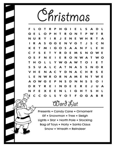 Christmas word search coloring pages free coloring book all about