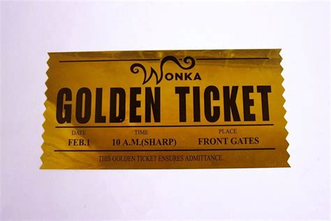 golden ticket template out of darkness
