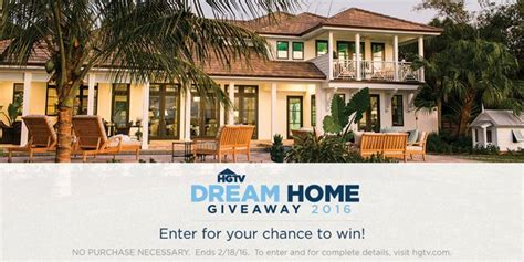 hgv home giveaway 2016 autos post hgtv sweepstakes announcement html autos post