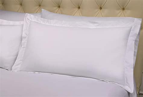 White Pillow Sham signature collection pillow shams st regis boutique