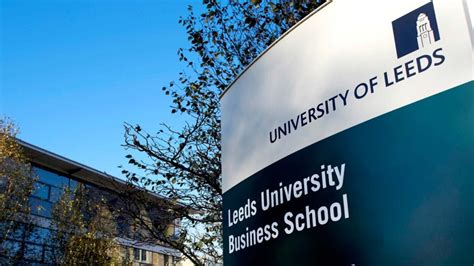 Leeds Mba Scholarship by 2017 Leeds Business School And Partial