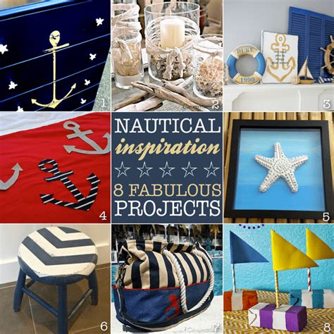 nautical craft projects monday inspiration linky your homebased