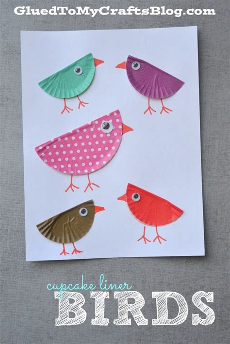 The 21 Best Images About Birds Preschool Crafts - 25 best ideas about cupcake liner crafts on