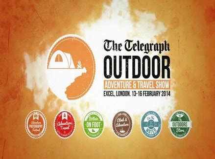 whats on at the telegraph outdoor adventure show telegraph the telegraph outdoor adventure travel show beauty and
