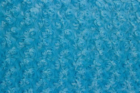 rose cuddle turquoise  fabric mill