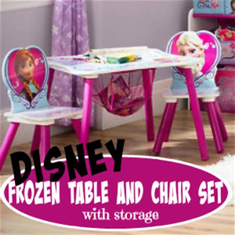 Frozen Table Set by Disney Frozen Table Chair Set With Storage