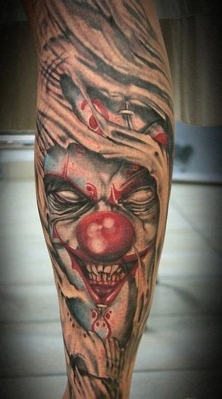 joker tattoo real 40 best skin circus tattoos images on pinterest circus