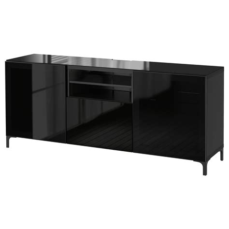 ikea besta black gloss best 197 tv bench black brown selsviken high gloss black smoked glass 180x40x74 cm ikea