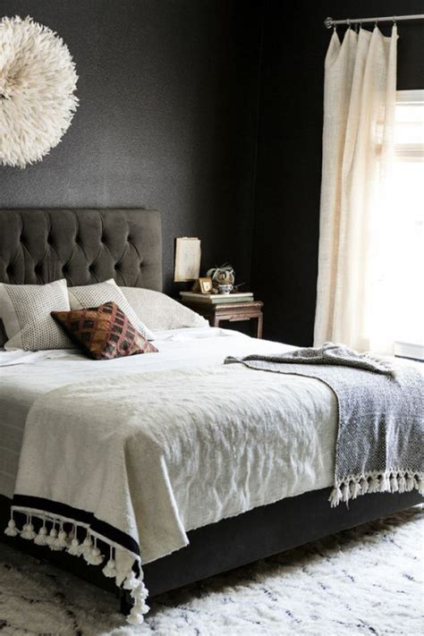 dark grey walls in bedroom why dark walls work in small spaces design sponge