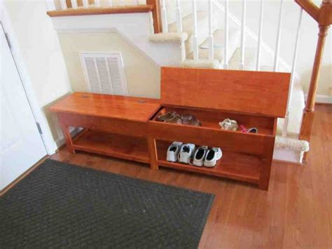 wood bench with storage plans wooden storage bench plans home furniture design
