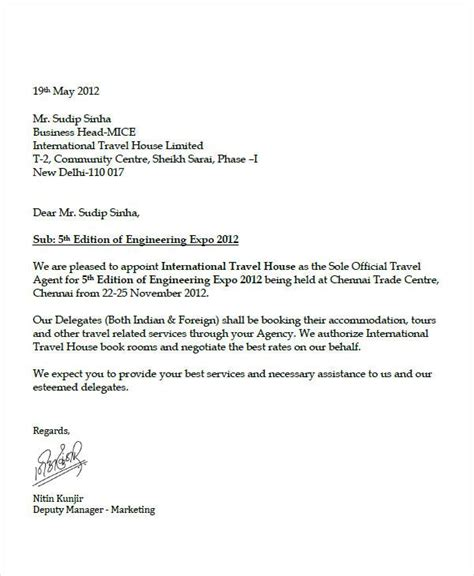 appointment letter sle for advisor request letter sle for visit 28 images sle invitation