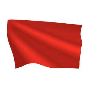 Wall Stickers Sports bright red flag flags international