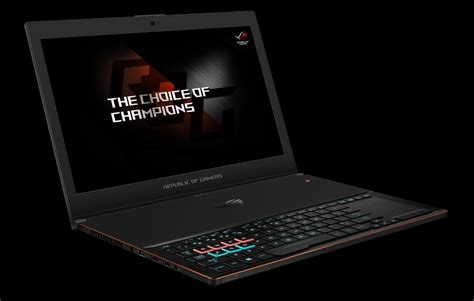 Laptop Asus Rog Agustus asus rog zephryus gx501 brings powerful desktop grade