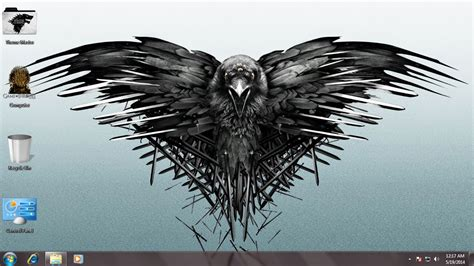themes windows 7 games of thrones game of thrones theme for windows 7 8 8 1 හ මද ම එකට