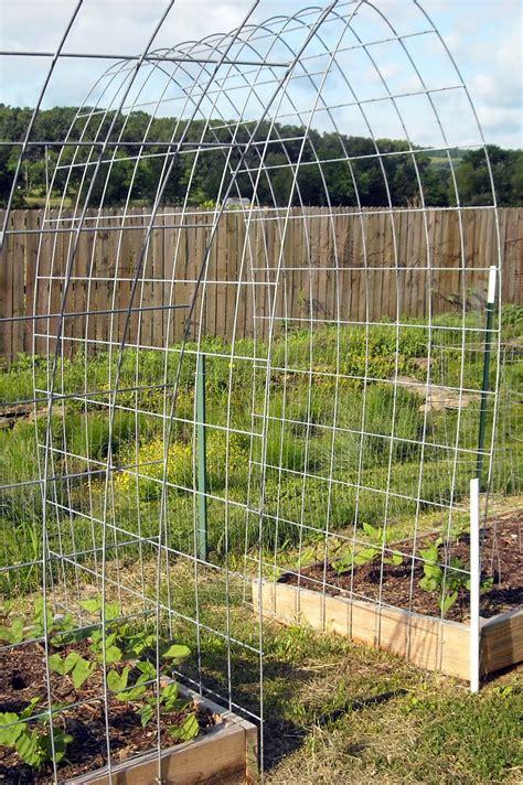 Wire Garden Trellis The Best Trellis Designs Organic Gardening My Favorite