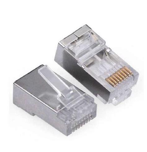 Conector Rj 45 Isi 50 Pcs Pack 2017 metallic shielded rj45 shielded metal ethernet