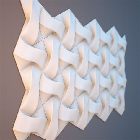 wall panel   model relief  cnc  stl file format