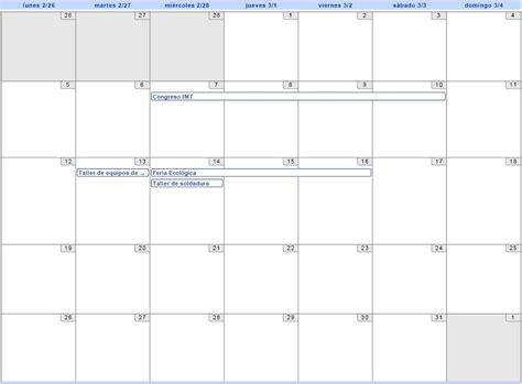 Calendario Marzo 2007 Calendario Imt Juarez