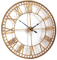 Extra Large Wall Clock by Extra Large Gold Wall Clock Decofurnish