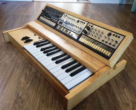 midi keyboard controller stand matrixsynth custom korg volca synth enclosure midi