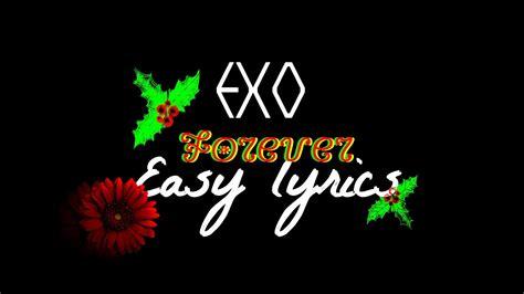 exo forever lyrics exo forever easy lyrics youtube