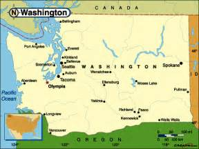 map us washington free geographical map of washington united states maps