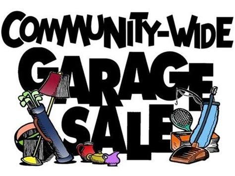 the 25 best ideas about community garage sale on