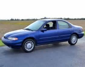 1999 ford contour blue 200 interior and exterior images