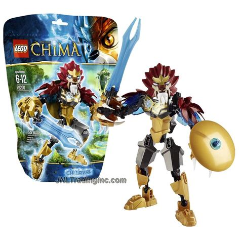 tall lava l lego chima series 6 quot tall figure 70200 chi laval with