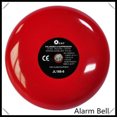24vdc 6inch conventional alarm bell for alarm system zc188 6 zoanco china trading