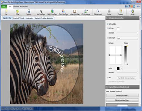 Cd Etiketten Drucken Software Kostenlos by Dvd Cd Cover Und Label Erstellen Und Drucken