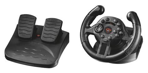 vibrazione volante trust volante da corsa gxt 570 con feedback a vibrazione