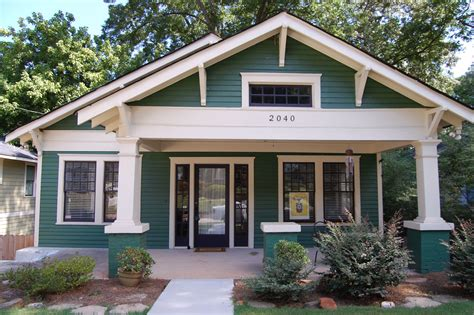 white trim craftsman bungalow house part of the salt 1920s bungalow in kirkwood houses pinterest