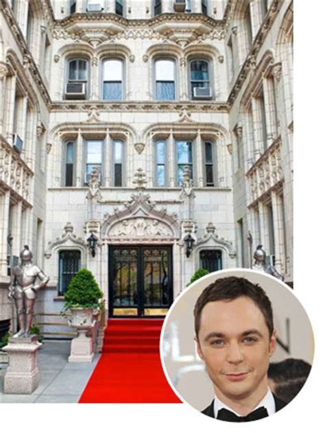 real estate report jim parsons buys 1 8 nyc condo