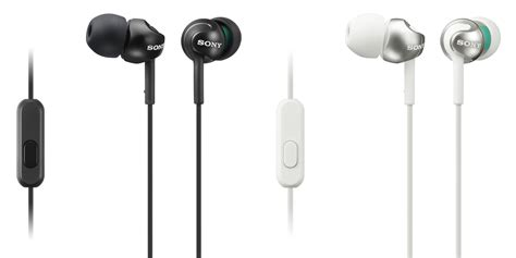 Earphone Sony Ex110 Original sony introduces mew mdr zx and mdr ex headphones the