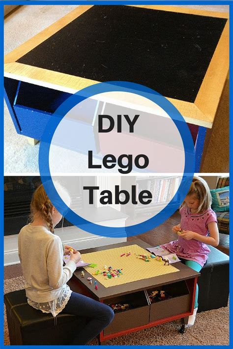 diy reversible lego table how to build a lego table diy lego table and