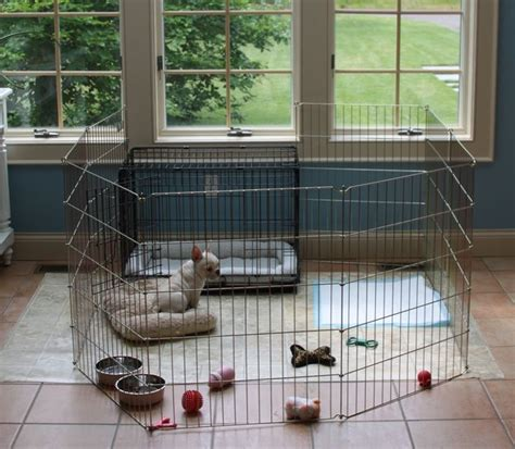 crate puppy 25 best ideas about playpen on puppy playpen puppy crate and crate