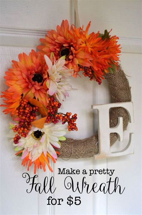 how to make fall decorations 25 best ideas about easy fall crafts on