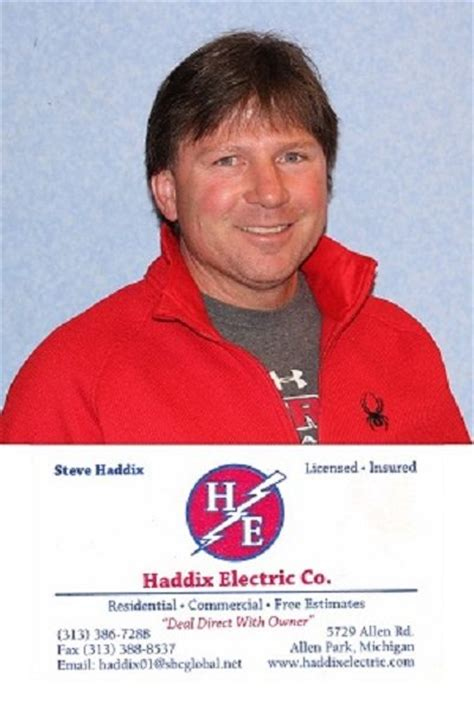 Utility Company Search By Address Haddix Electric Company Allen Park Chamber Of Commerce
