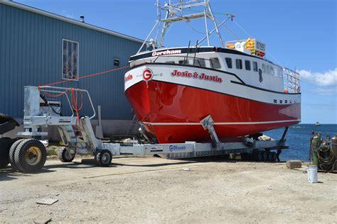 kropf boats kropf industrial delivers y 100 yard trailer to nova