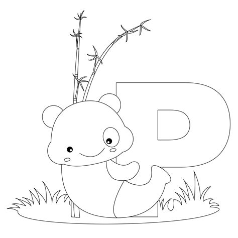 coloring page of letter p free printable alphabet coloring pages for kids best