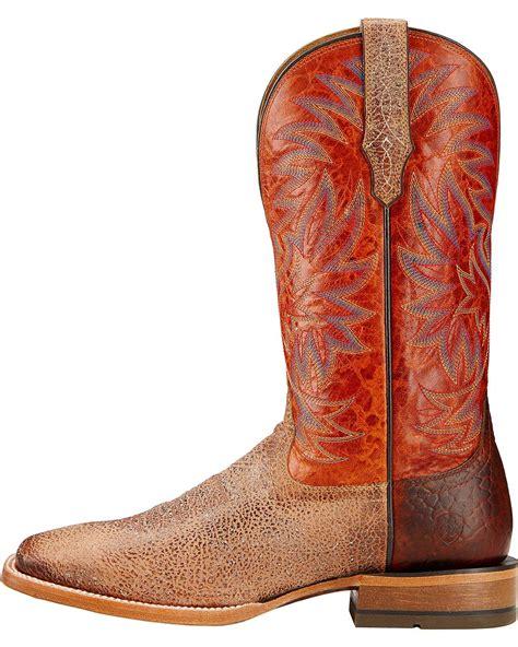 mens ariat square toe cowboy boots ariat s high call cowboy boot square toe 10017370 ebay